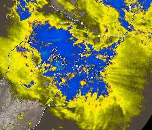 Wellington Radar Area Weather Radar Imagery Rain Forecasts and more from MetService.com
